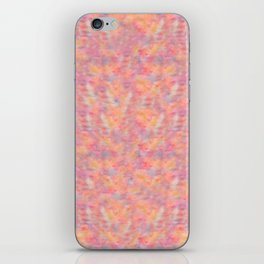Abstract Watercolor Cat Lovers Typography iPhone Skin