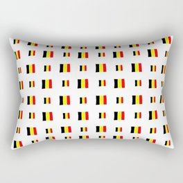 Flag of belgium 8 handmade Rectangular Pillow