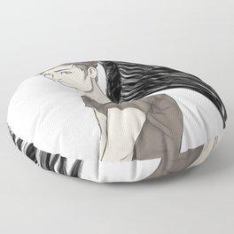 The Raven King Floor Pillow