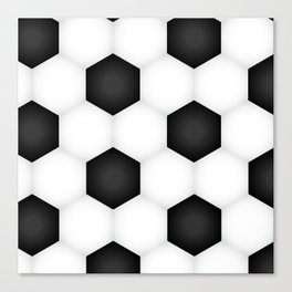 Soccer (Fooball) Ball Canvas Print