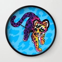Oracular Leopard Cub Wall Clock