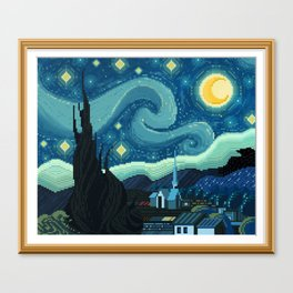 What a Starry Night Canvas Print