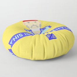 This Is An Adventure Floor Pillow