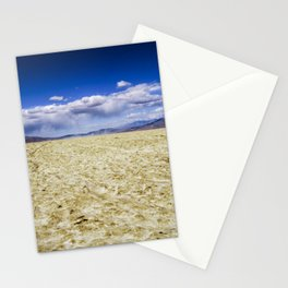 Trona Desert Landscape California Stationery Cards