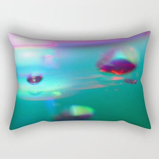 Spaced. Rectangular Pillow