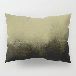 golden lime & graphite Pillow Sham