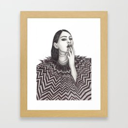 3 chainz Framed Art Print