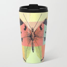 Aesthetic Abstract Pattern Butterfly Travel Mug