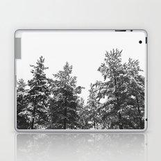 simply trees in winter Laptop & iPad Skin