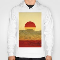outdoor Hoodies featuring Warm abstraction by Stoian Hitrov - Sto