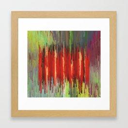 Red Rain Framed Art Print