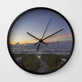 Sunrise View Wall Clock