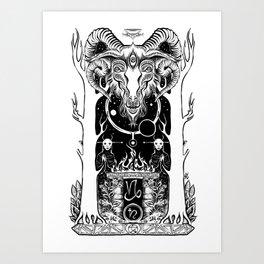Ritual of Capricorn Art Print