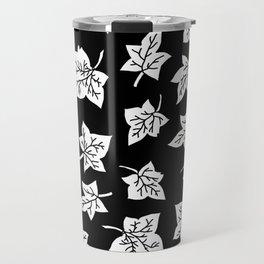 Autumn Leafs Pattern Travel Mug
