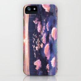 Finis Terra iPhone Case