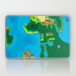 Seamer World 2 Map Laptop & iPad Skin