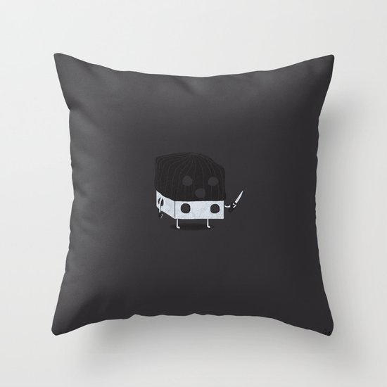 Dicey Little Guy Throw Pillow
