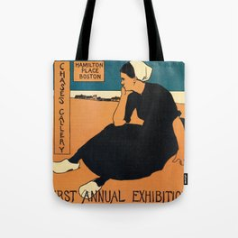 1895 Boston, Holland water color art expo Tote Bag