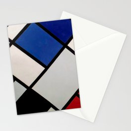 Theo van Doesburg - Contra-Compositions of Dissonances XVI - Abstract De Stijl Painting Stationery Cards