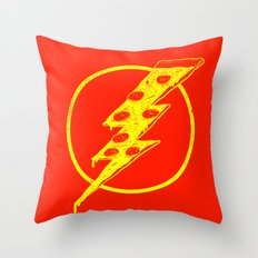 Quick Pizza Throw Pillow