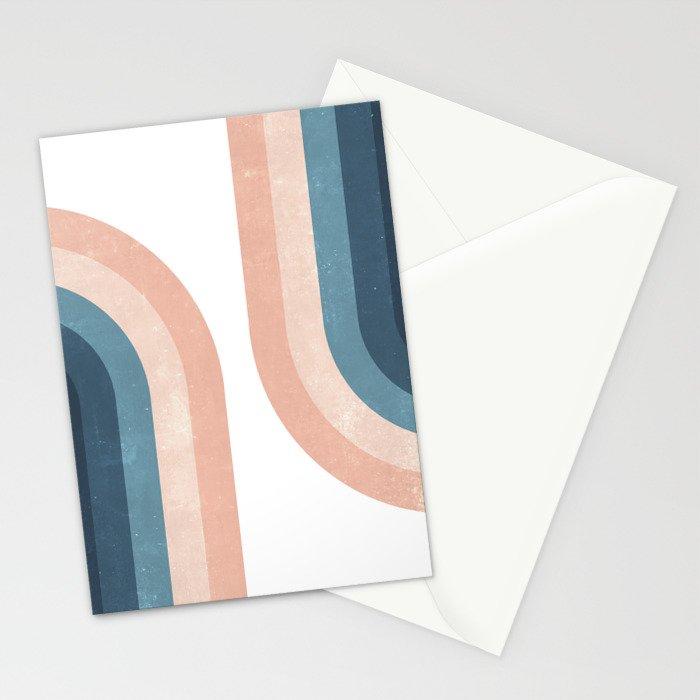 70s Rainbow Stationery Cards