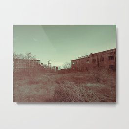 Abandoned textile factory Metal Print
