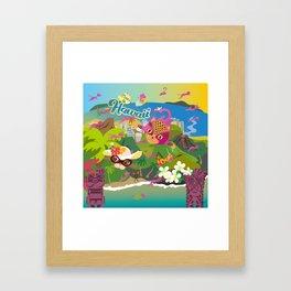 Mews in Hawaii Framed Art Print