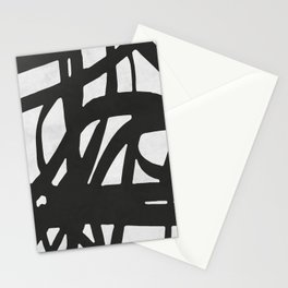 Black Expressionism I Stationery Cards