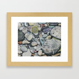 Beach4 Framed Art Print