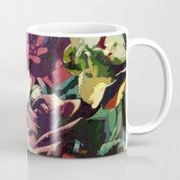 karu kara Mugs featuring Daisy among Roses by Klara Acel