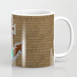 Mermaid Looking Through a Porthole Coffee Mug