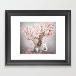 Hanami Framed Art Print