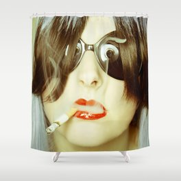 Ignited Shower Curtain
