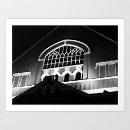 Ryman Auditorium Art Print