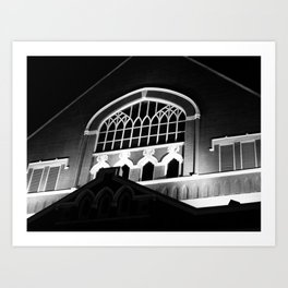 Ryman Auditorium Art Print