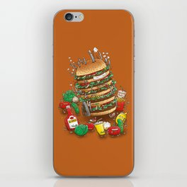 Uber BurgerBot iPhone Skin