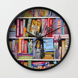 The Science Of Theatre Wall Clock