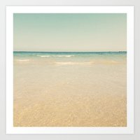 serenity Art Prints featuring Serenity by Cassia Beck