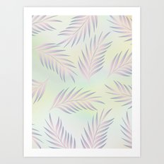 Palm Leaves 2 Art Print