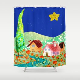 Rio Bo Shower Curtain