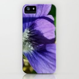 Wild Violet iPhone Case