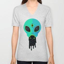 Alien Flu Unisex V-Neck