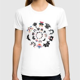 Rorschach test subjects' perceptions of inkblots psychology   thinking Exner score T-shirt