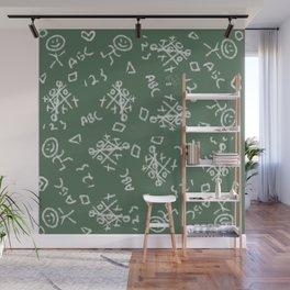 Kid Print Wall Mural