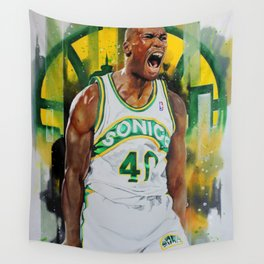 Reign Man Wall Tapestry