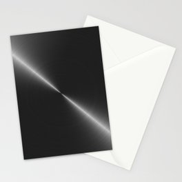 Metallic Bright Polished Steel Stationery Cards