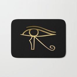 Eye of Horus Egyptian symbol Bath Mat