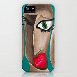 Eye Bird Lipstick  iPhone Case