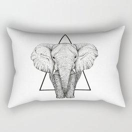 Wisdom Elephant Rectangular Pillow