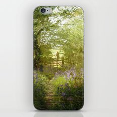 bluebell meadows iPhone & iPod Skin